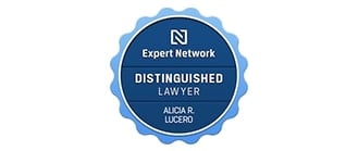 Expert Network | Distinguished Lawyer | Alicia R. Lucero